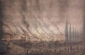 Der große Hamburger Brand 1842
