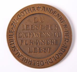 Historische Münze aus der internen Ausstellung der Gothaer