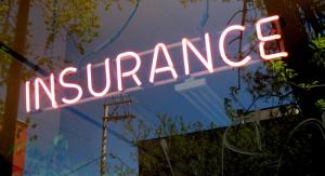 Insurance-Schild