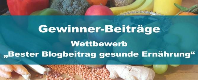 issgesund Blogaktion und Wettbewerb gesunde Ernährung